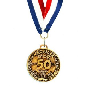 Medaille D'or 50 ans