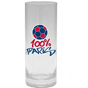 Verre 100% Paris - Ballon Football