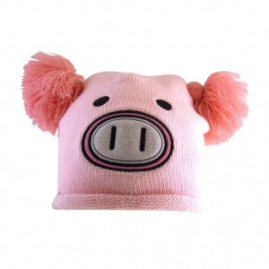 Freaks And Friends bonnet Pink Pig