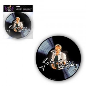 Tapis de souris Johnny Hallyday 45 T (2)