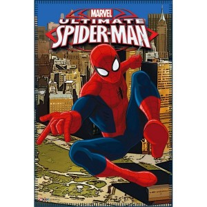 Plaid - Couverture polaire Spiderman 100 x 150 cm