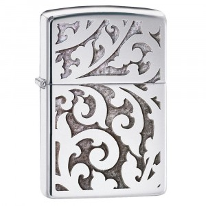 Zippo - Floral Pattern