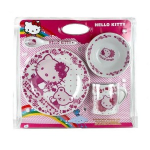Pack Dejeuner Hello Kitty