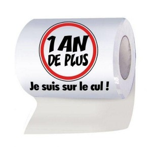 Rouleau Papier Wc 1 An De Plus