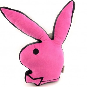 Coussin PLAYBOY Pink Bunny