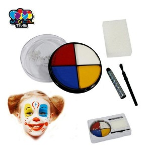 Palette de maquillage festif clown