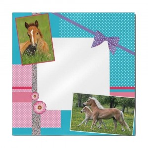 Miroir Cheval Girly