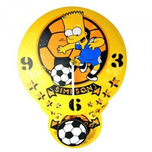 Horloge Foot Simpsons à balancier