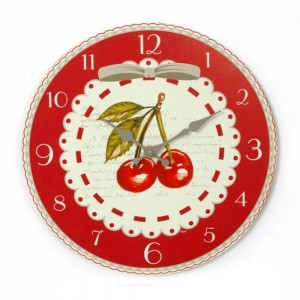 Pendule murale collection Cherry