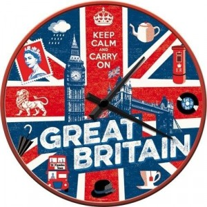 Horloge Murale UK - Great Britain