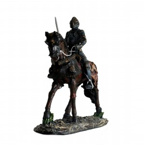 Figurine de décoration : Chevalier en armure de parade