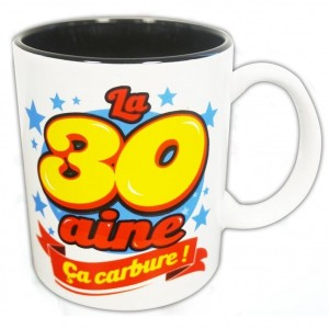 Mug Anniversiare - La 30aine öa Carbure