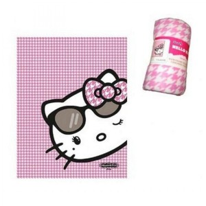 Hello Kitty - Plaid polaire Hello Kitty
