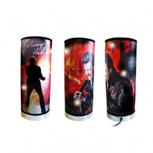 Lampe Johnny Hallyday Rouge