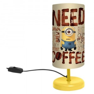 Lampe de chevet Minion 29 cm NEED COFFEE- Moi, Moche et Méchant