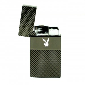 Briquet Windproof  - Lapin Playboy Anthracite