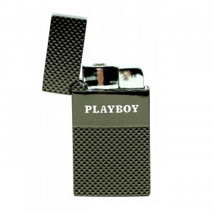 Briquet Windproof  - Logo Playboy Anthracite