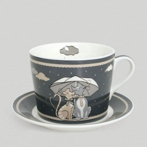 Soucoupe et tasse collection Umbrella
