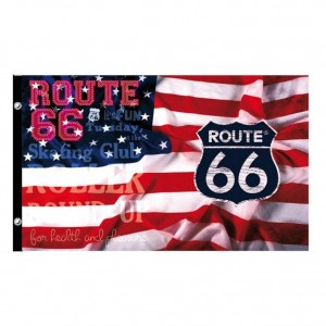 Drapeau Route 66 - Feel the freedom