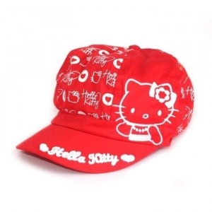Casquette Hello Kitty rouge - Taille 54