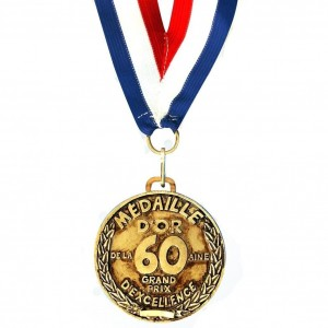 Medaille D'or 60 ans