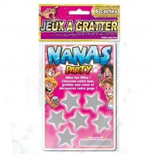 Jeu à gratter - NANAS PARTY