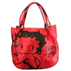 Sac à Main - Betty Boop Rouge
