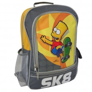 Simpsons  - Cartable - Sac à dos Bart SK8