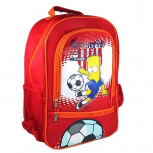 SIMPSONS - Cartable - Sac à dos Bart football