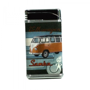 Briquet slim Volkswagen Samba Orange