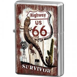 Briquet Essence Route 66 - Survivor