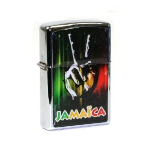 Briquet à Essence Jamaica - Peace