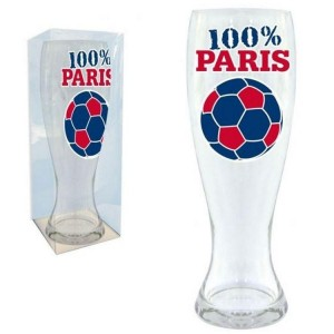 Verre A Biere Foot Paris Ballon