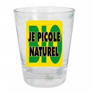 Verre Shooter - Je Picole Naturel
