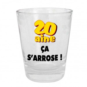Verre Shooter - 20aine