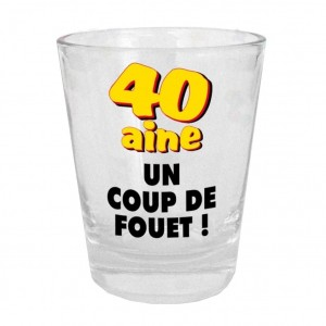 Verre Shooter - 40aine