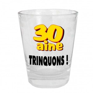 Verre Shooter - 30aine