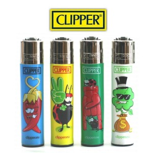 Lot de 4 Briquets Clipper - Fortuna 9