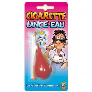 Farces et attrapes - Cigarette Lance-Eau