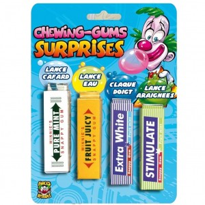 Farces et attrapes - Chewing-Gums Surprises