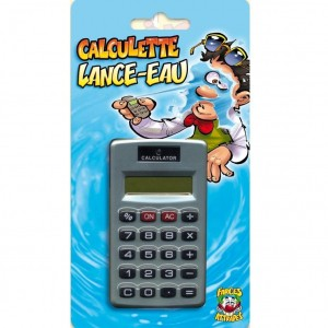 Farces et Attrapes - Calculette Lance-Eau