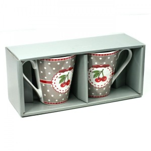 Coffret - 2 Mugs Cherry