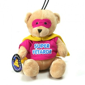 Peluche Mini Super - Super Fétarde