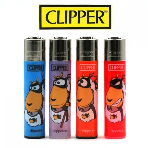 Lot de 4 Briquets Clipper - Ninja Sheepas