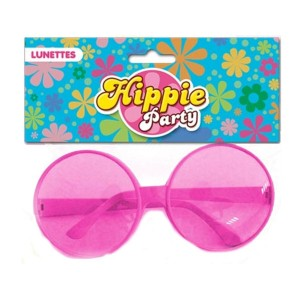 Lunettes Hippie Roses - Peace & Love