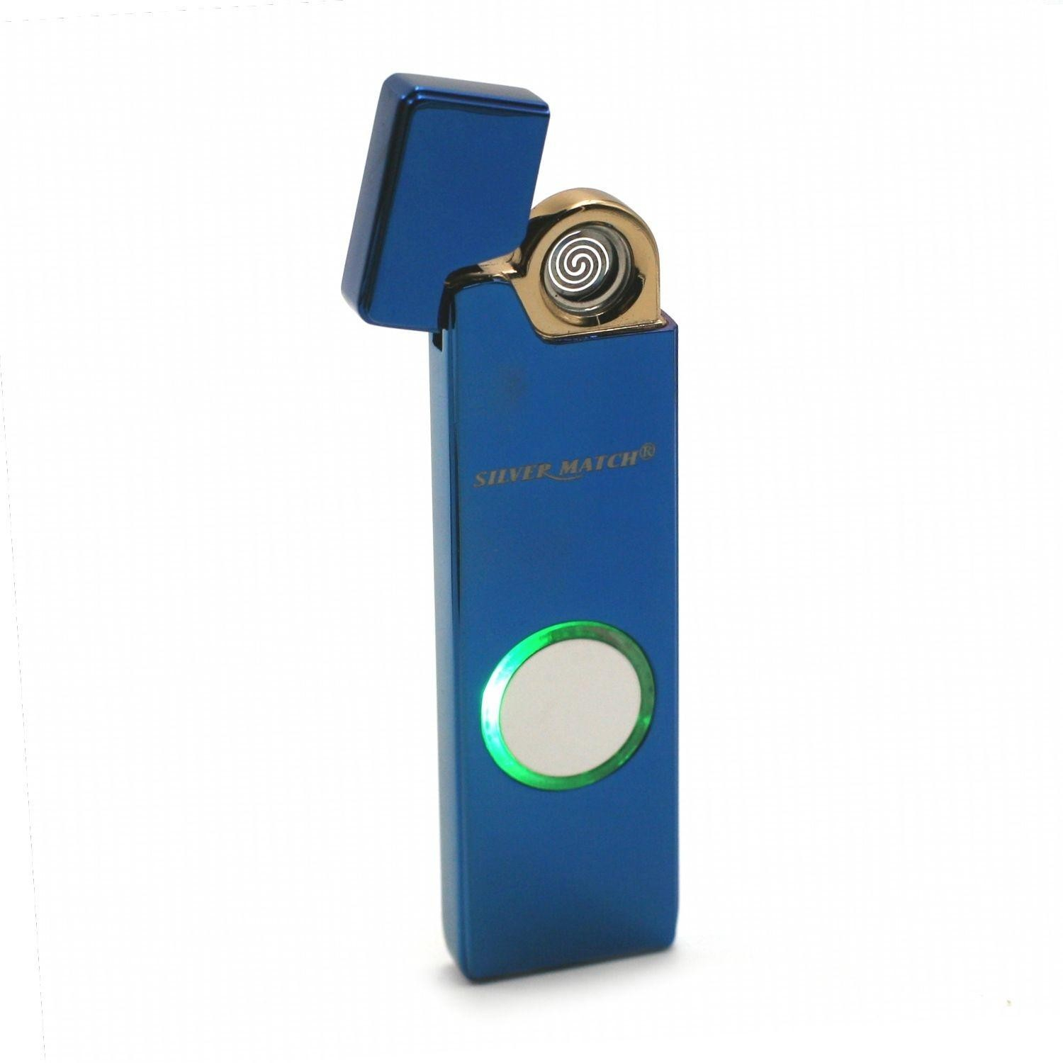 Briquet Silvermatch Hype Flash USB - Bleu