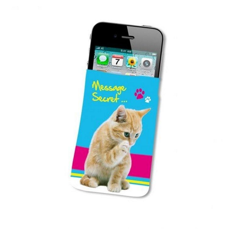 Housse Telephone Chien Et Chat - Message Secret ...