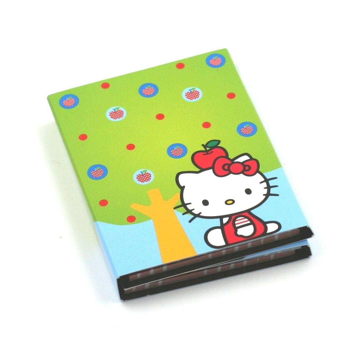 Carnet de Notes Vert - Hello Kitty