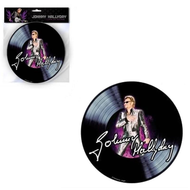 Tapis de souris Johnny Hallyday 45 T (3)