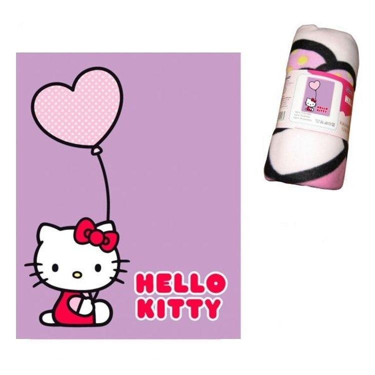 Plaid Hello Kitty Ballon